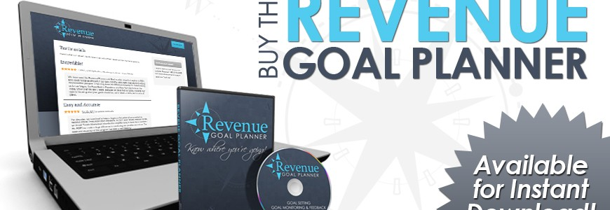 Buy the Revenue Goal Planner today!